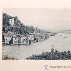 Fotografía antigua: LITOGRAFÍA HAUSER Y MENET. AÑO1891. SAN SEBASTIÁN.- PASAJES DE SAN JUAN. Lote 13818857