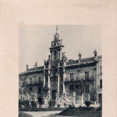 Fotografía antigua: LITOGRAFÍA HAUSER Y MENET. AÑO1890. VALLADOLID.- LA UNIVERSIDAD. Lote 13819151