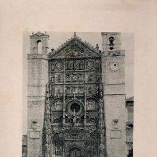 Fotografía antigua: LITOGRAFÍA HAUSER Y MENET. AÑO1890. VALLADOLID.- FACHADA DE SAN PABLO. Lote 13819189
