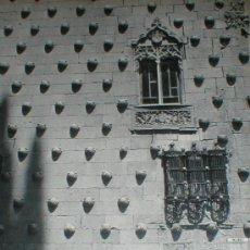 Fotografía antigua: SALAMANCA CASA DE LAS CONCHAS MICHAEL WOLGENSINGER LAMINA 1950. Lote 24561158
