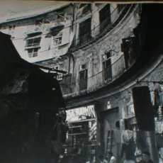 Fotografía antigua: VALENCIA MERCADO MICHAEL WOLGENSINGER LAMINA 1950. Lote 27138740