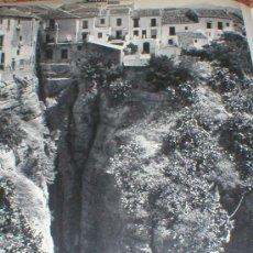 Fotografía antigua: RONDA MALAGA EL TAJO MICHAEL WOLGENSINGER LAMINA 1950. Lote 25896376