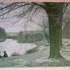 Fotografía antigua: FOTOGRAFIA ANIMADA, FOTO, ORILLA RIO TAJO, 1914. Lote 15346697