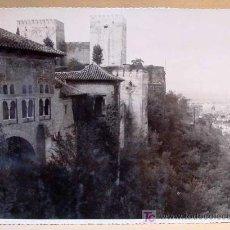Fotografía antigua: FOTOGRAFIA, FOTO, GRANADA, LA ALHAMBRA. Lote 15347156