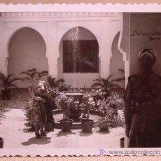 Fotografía antigua: ANTIGUA FOTO VALENCIA, EXPOSICION REGIONAL DE 1948, PATIO INTERIOR, ARCOS ARABES, FUENTE.. Lote 15358299
