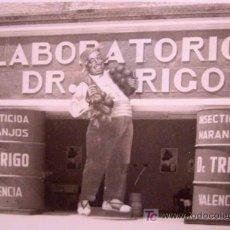 Fotografía antigua: ANTIGUA FOTO, VALENCIA, EXPOSICION REGIONAL, 1948, LABORATORIOS DR. TRIGO. Lote 15358350