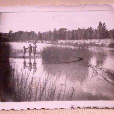 Fotografía antigua: ANTIGUA FOTO, GUADALAJARA, TRILLO, 1941, LABORATORIO CAMARILLO, RIO. Lote 20647493