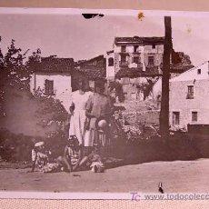 Fotografía antigua: ANTIGUA FOTO, GUADALAJARA, TRILLO, 1941. Lote 15359699