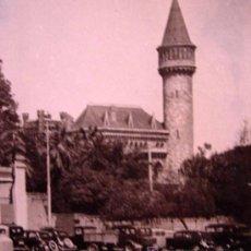 Fotografía antigua: ANTIGUA FOTO, EXPOSICION REGIONAL, 1948, PALACIO RIPALDA, ENTRADA PRINCIPAL. Lote 15399964