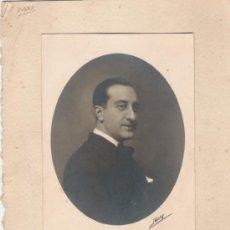 Fotografía antigua: FOTOGRAFIA CON MATASELLO DE FALANGE . Lote 18770689