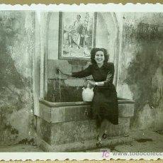Fotografía antigua - FOTOGRAFIA, FOTO, ESPADILLA ?, 1950s, FUENTE, 6 x 9 cm - 16808341