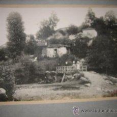 Fotografía antigua: ANTIGUA FOTOGRAFIA DE LA RIERA COLUNGA FIRMADA J.GARCIA GIJON . Lote 19358102