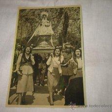Fotografía antigua: FOTOGRAFIA VIRGEN DE COVADONGA EN PROCESION COPIA . Lote 17546397
