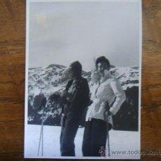 Fotografía antigua: ESQUIADORAS EN LA MOLINA 1944. Lote 22638235