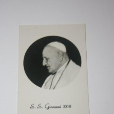 Fotografía antigua: FOTOGRAFIA ROMANA DE SU SANTIDAD GIOVANNI XXIII. Lote 26150614