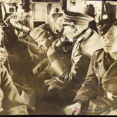 Fotografía antigua: ALEMANIA (III REICH) - TROPAS NAZIS TELETRANSPORTADAS A NORUEGA - 1940 - 2ª GUERRA MUNDIAL. Lote 18780963