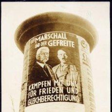 Fotografía antigua: PROPAGANDA POR LAS CALLES DE BERLIN - ALEMANIA - 1933. Lote 25625599