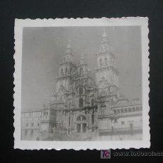Fotografía antigua: FOTOGRAFIA CATEDRAL DE SANTIAGO DE COMPOSTELA. Lote 18941871
