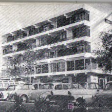 Fotografía antigua: PLACA GRABADO ANTIGUA FOTOGRAFIA DE UN HOTEL VELEZ Ó NERJA (MALAGA). Lote 25462570