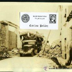 Fotografía antigua: FOTOGRAFIA GUERRA CIVIL(1936-39). TROPAS DE FRANCO EN BARCELONA (2-FEBRERO-1939). GRAN FORMATO.. Lote 25625604