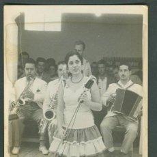Fotografía antigua: FOTOGRAFIA EN BLANCO Y NEGRO ANTIGUA. BAILAORA.. Lote 22479289