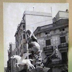 Fotografía antigua: FOTOGRAFIA DE FALLAS, FALLA, 10 X 7 CM, BLANCO Y NEGRO. Lote 23683389