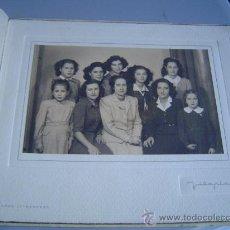 Fotografía antigua: ANTIGUA FOTOGRAFIA,GRUPO DE MUJERES.. Lote 23163715