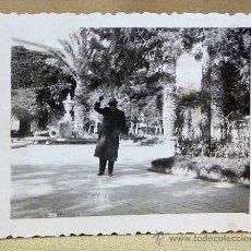 Fotografía antigua: FOTO, FOTOGRAFIA, NOVELDA, PARQUE, ALICANTE, 6 X 8 CM. Lote 23888406