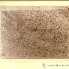 Fotografía antigua: FOTOGRAFÍA MAPA DE OÑA ( BURGOS)- AÑOS 60. Lote 23904784