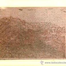 Fotografía antigua: FOTOGRAFÍA MAPA DE RIBADESELLA ( ASTURIAS) - AÑOS 60. Lote 23904906