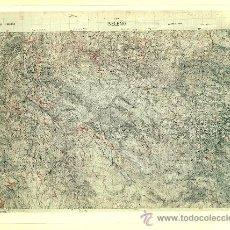 Fotografía antigua: FOTOGRAFÍA MAPA DE BELEÑO (ASTURIAS) - AÑOS 60. Lote 23904967