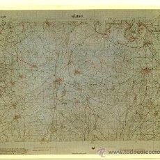 Fotografía antigua: FOTOGRAFÍA MAPA DE NÁJERA (LA RIOJA ) - AÑOS 60. Lote 23905011