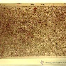 Fotografía antigua: FOTOGRAFÍA MAPA DE EZCARAY ( LA RIOJA ) - AÑOS 60. Lote 23905271