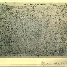 Fotografía antigua: FOTOGRAFÍA MAPA DE SANTO DOMINGO DE LA CALZADA ( LA RIOJA ) - AÑOS 60. Lote 23905304