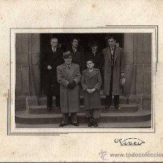 Fotografía antigua: FOTOGRAFIA - FOTOGRAFO VIVES DE BARCELONA RONDA SAN ANTONIO102 SOBRE CARTON DURO. Lote 24204006