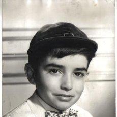 Fotografía antigua: ANTIGUA FOTO ORIGINAL JOSELITO, 19 DICIEMBRE 1960. Lote 26501567