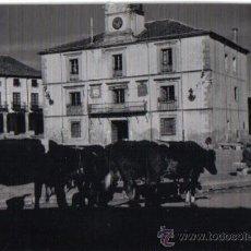 Fotografía antigua: RIAZA (SEGOVIA) FOTOGRAFIA 8 FEBRERO 1970 . Lote 26077900