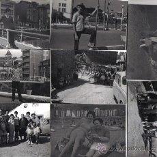 Fotografía antigua: OCHO FOTOGRAFIAS FAMILIARES EN ASTURIAS (LUARCA)) AÑOS 60. Lote 26609627