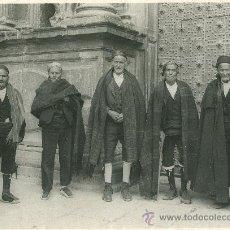 Fotografía antigua: ARAGONESES. TRAJES TÍPICOS. OTTO WUNDERLICH.ZARAGOZA. DAROCA. AÑO 1929. GRAN TAMAÑO. EXCELENTE FOTO.. Lote 27440195