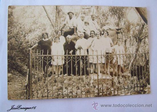 PIRIAPOLIS, URUGUAY, CERRO DEL TORO, AÑOS 30 APROX. SEPIA. (Fotografía Antigua - Fotomecánica)