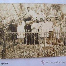 Fotografía antigua: PIRIAPOLIS, URUGUAY, CERRO DEL TORO, AÑOS 30 APROX. SEPIA.. Lote 26575639