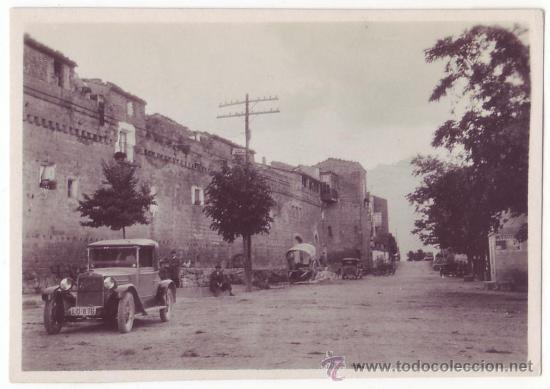 FOTOGRAFÍA ANTIGUA DE LAGUARDIA, RIOJA ALAVESA / ÁLAVA (1930) (Fotografía Antigua - Fotomecánica)