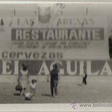Fotografía antigua: FOTOGRAFIA RESTAURANTE PLAYA DE LA MALVARROSA VALENCIA. Lote 27512362
