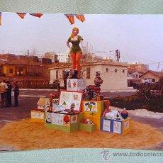 Fotografía antigua: FOTOGRAFIA, FOTO, FALLAS, VALENCIA, 20 X 15 CM, COLOR, LA MASCLETA. Lote 25732564