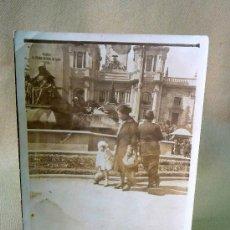 Fotografía antigua: FOTO, FOTOGRAFIA, FUENTE DE PLAZA, VALENCIA, 1930 S, 12 X 8 CM. Lote 25765453