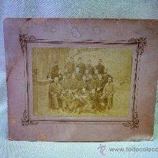 Fotografía antigua - FOTO , FOTOGRAFIA, FOTO SOBRE CARTON, RETRATO UNIVERSITARIO, PRINCIPIOS 1900, 12 X 17 CM - 25785408