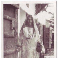 Fotografía antigua: TETUÁN (PROTECTORADO ESPAÑOL EN MARRUECOS): MENDIGO (1934). Lote 26162617