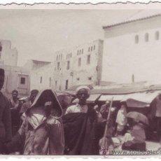 Fotografía antigua: TETUÁN (PROTECTORADO ESPAÑOL EN MARRUECOS): MERCADO (1934). Lote 26162691
