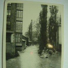 Fotografía antigua: REINOSA EL RIO CANTABRIA FOTOGRAFIA TOMADA EN EL AÑO 1935 - MIRA MAS EN MI TIENDA. Lote 26266279