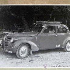 Old photograph - FOTO, FOTOGRAFIA, COCHE ANTIGUO, RENAULT, DE LAS PRIMERAS VACAS, 23 X 25 CM - 26698105